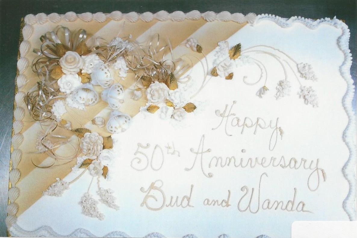 Pictures Of Th Wedding Anniversary Sheet Cakes