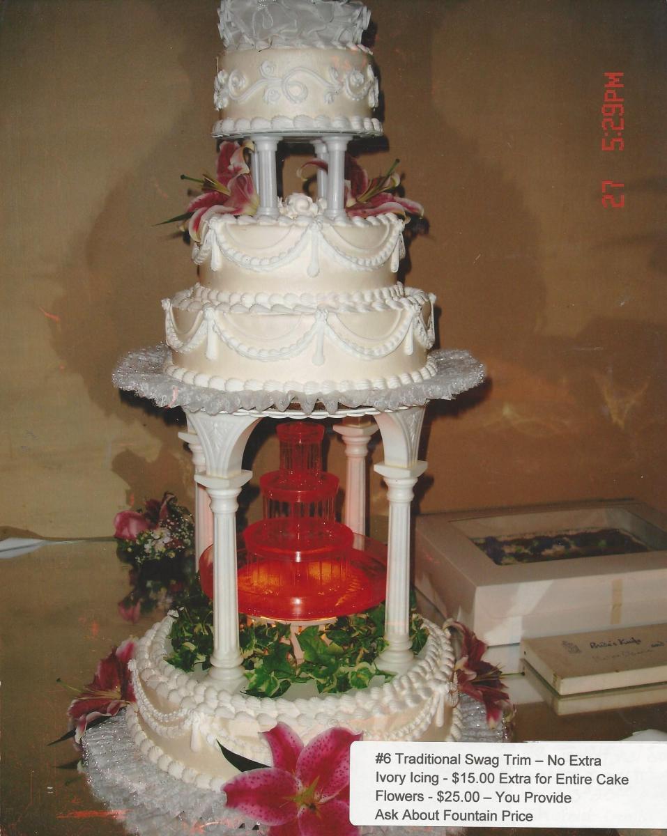 Wedding Cakes Harter Bakery